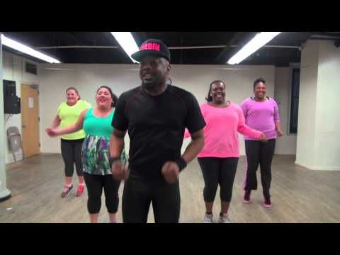 Plus size or not, this is the funnest work out video I have ever seen.