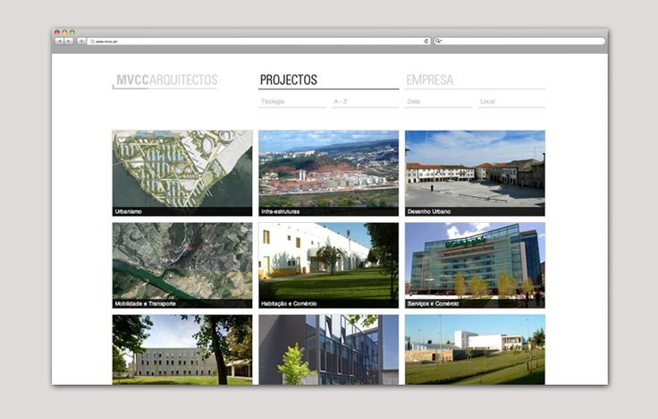 MVCC architecture studio website