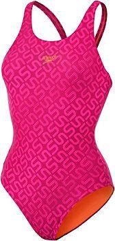 <title>SPEEDO Monogram Allover Muscleback Schwimmanzug Damen schwarz 42 im Online Shop von SportScheck kaufen</title>