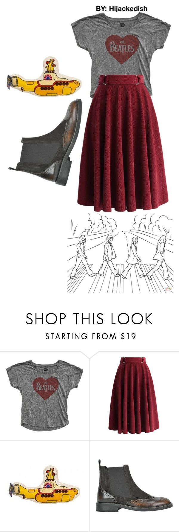 """""""Red beetles"""" by hijackedish on Polyvore featuring Chicwish and Submarine"""