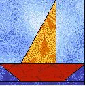 sailboat quilt pattern | Experienced quilters will be able to move right into the nine patch ...
