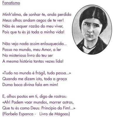 Fanatismo, Florbela Espanca
