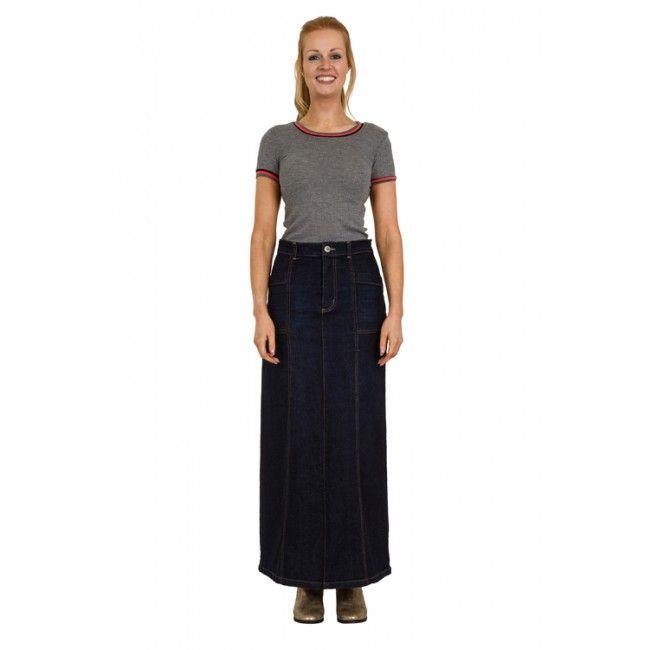 102 best Denim Skirts - long, short or midi images on Pinterest