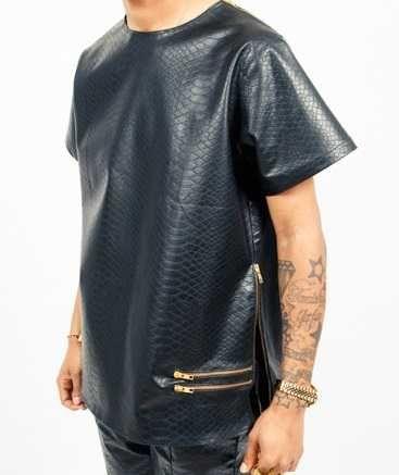 Leather Dashiki