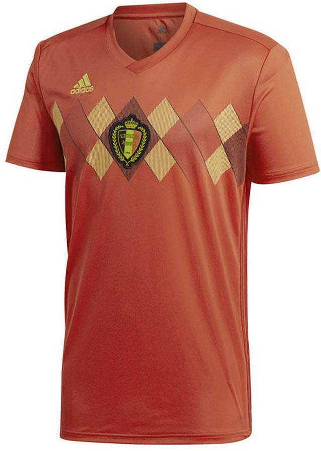 e0ff47f1b1e adidas Men s Belgium Soccer National Team Home Stadium Jersey ...