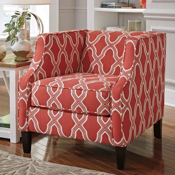 Ashley Sansimeon Coral Accent Chair Weekends Only Furniture And Mattress Chair Love