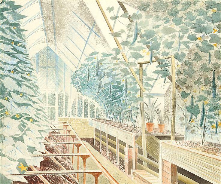 Eric Ravilious - Cucumber House