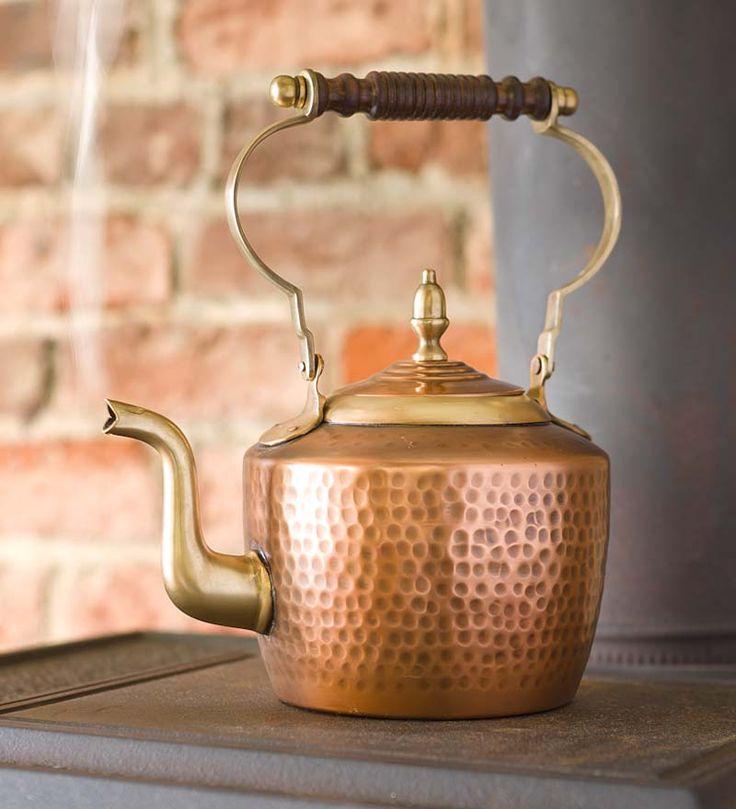 Handmade Copper Kettle | Woodstove Steamers