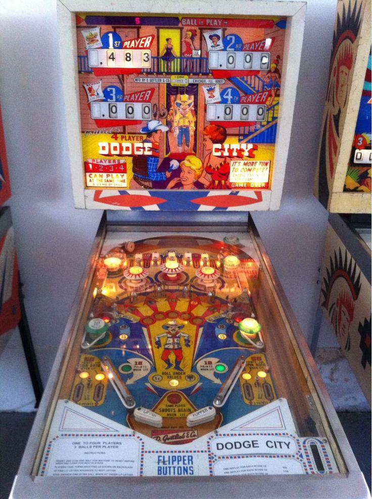 1965 Dodge City Gottlieb Pinball Machine Pinball