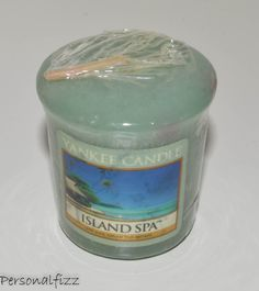 Yankee Candle Votive island spa