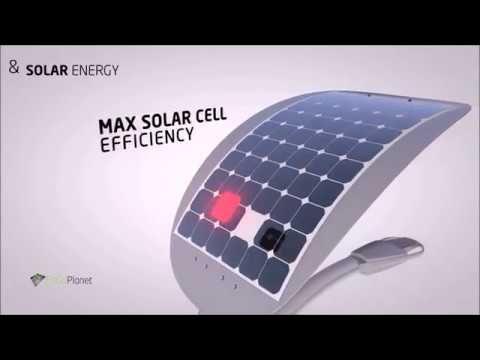 Smart Solar Street Lights with efficient LED light