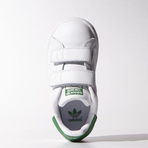 adidas - Stan Smith Shoes White / White / Green M20609