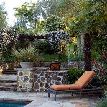 Mediterranean Garden Design Ideas, Pictures, Remodel and Decor