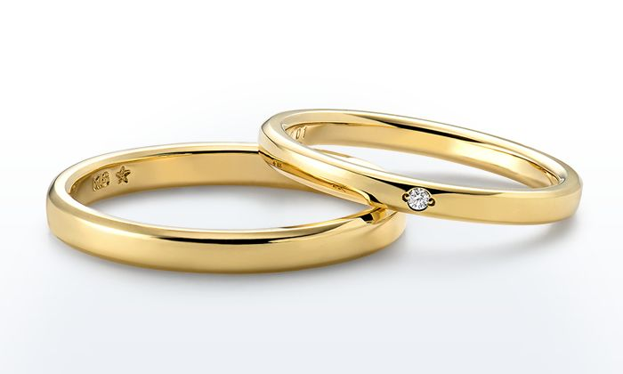 IK15S0NM-IK16SDGM|マリッジリング|婚約指輪・結婚指輪のGINZA TANAKA BRIDAL