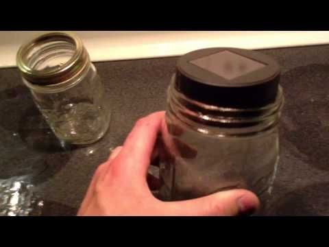 LED Solar Mason Jar DIY