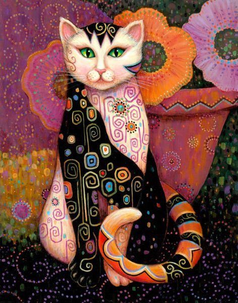 Marjorie Sarnat   Artist - Galleries - Kleo Kats