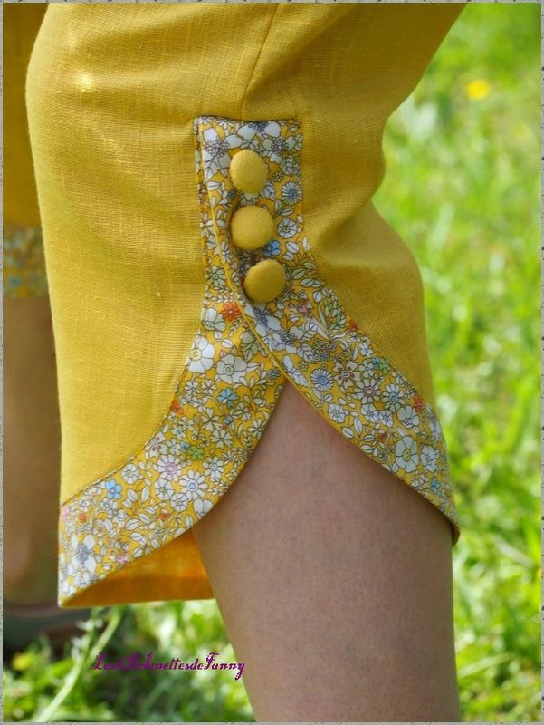 """ALIBOUR Patron de couture Etoffe Malicieuse issu du livre """"couture pour femmes"""" (créapassions) cousu par bobinettesdefanny"""