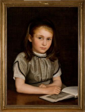 P.C. Skovgaard (1817-1875):  Portrait of Susette Skovgaard Holten, 1870