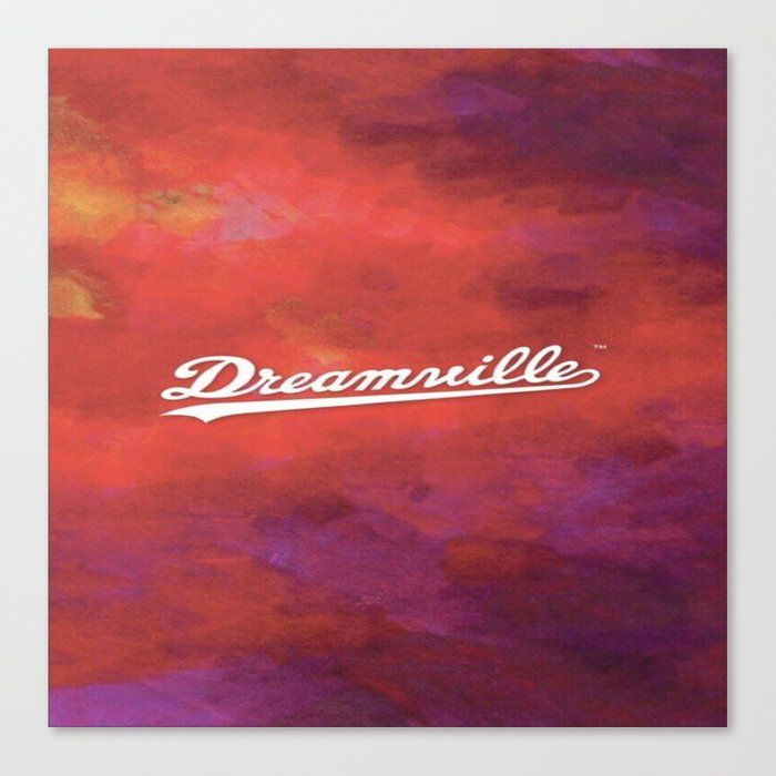 Dreamville Canvas Print By Billielish Medium In 2021 J Cole Art J Cole Rap Wallpaper