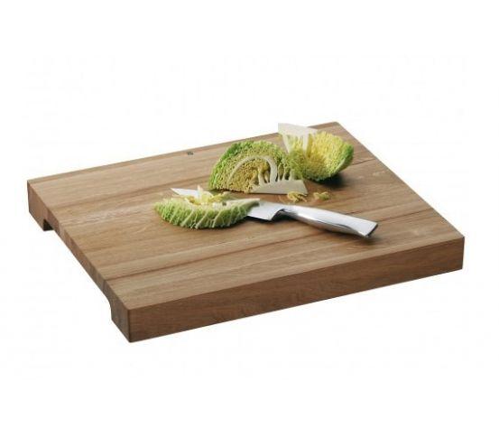 WMF - deska do krojenia. solidna, dębowa deska. drewno dębowe. profesjonalna deska kuchenna