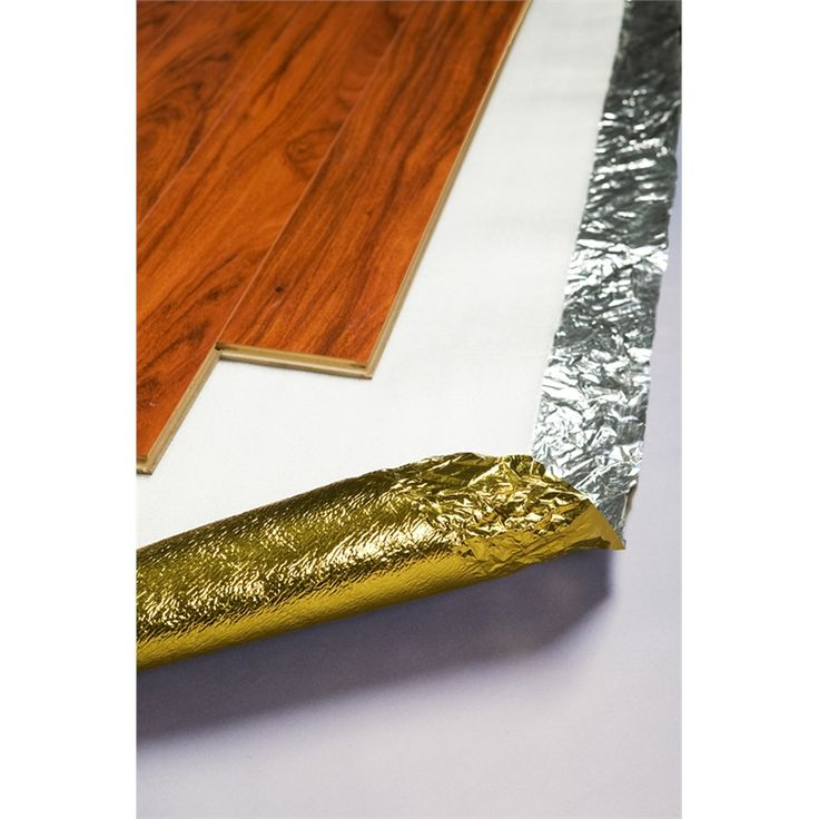 QEP Gold Laminate Floating Floor Underlay $55.50 for about 100m I think need to check bunnings