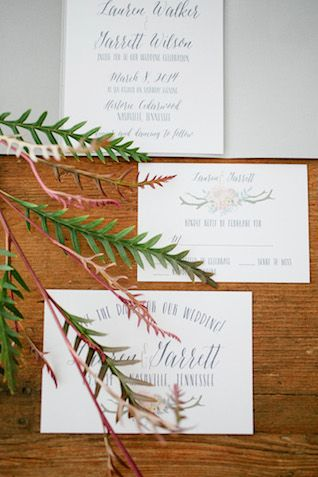 Rustic and refined wedding invitations | Kristyn Hogan Photography | see more on: http://burnettsboards.com/2014/09/rustic-refined-driftwood-wedding-inspiration/