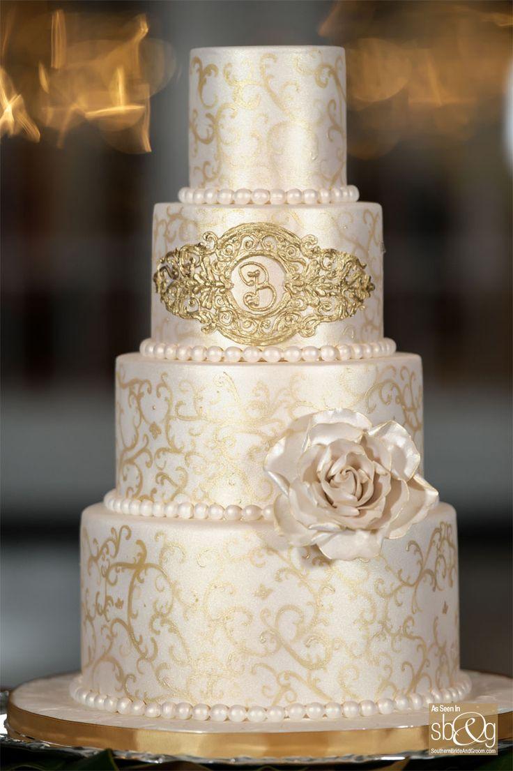 65 best Fondant Wedding Cakes images on Pinterest Fondant wedding