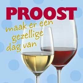 Verjaardag Proost wijn