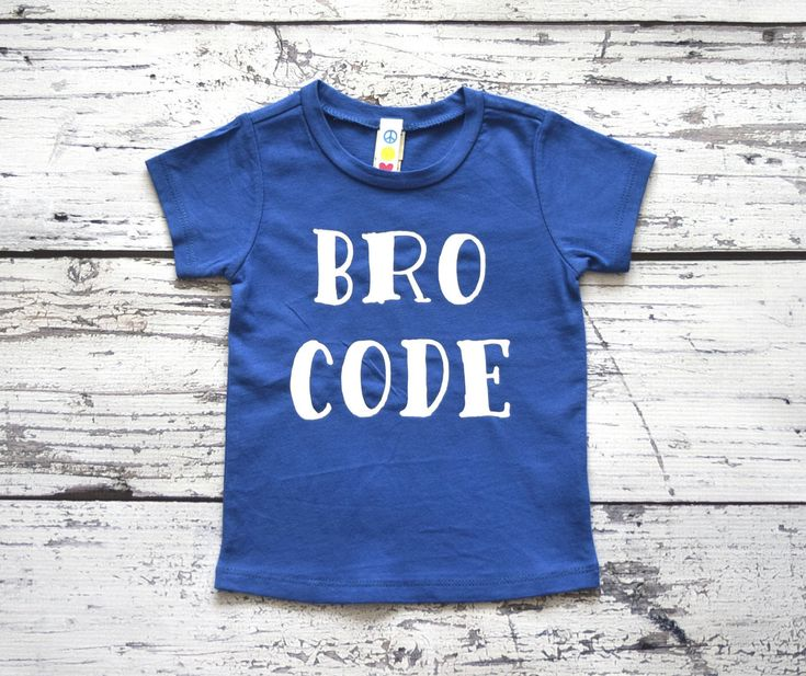 Bro Code Boy's Tee Toddler Trendy Shirt Boy's Hipster TShirt Infant Shirt Boys Clothing Toddler Swag Shirt Hip Toddler Clothes Boy's #056 by GoodLifeApparel on Etsy https://www.etsy.com/listing/398711489/bro-code-boys-tee-toddler-trendy-shirt