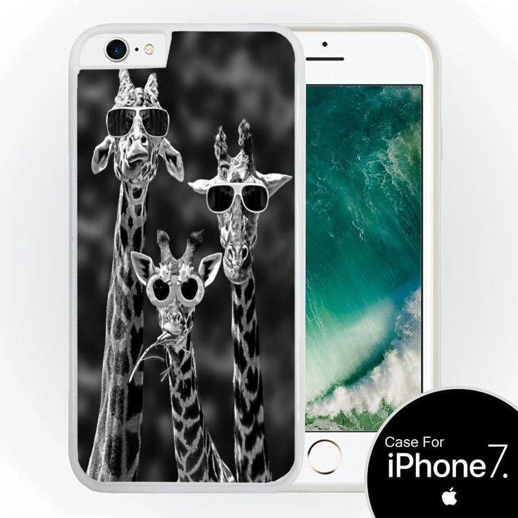 Funny Giraffes with Sunglasses Design Print Image White Hardshell Case for iPhone 7 (4.7) by Trendy Accessories. Protects your device from nicks and scratches. Easy access to all ports and buttons. Guaranteed fit for iPhone 7 (4.7-inch screen). Designed and sold by Trendy Accessories. 100% satisfaction guaranteed. Be different. Customize it with new unique look.