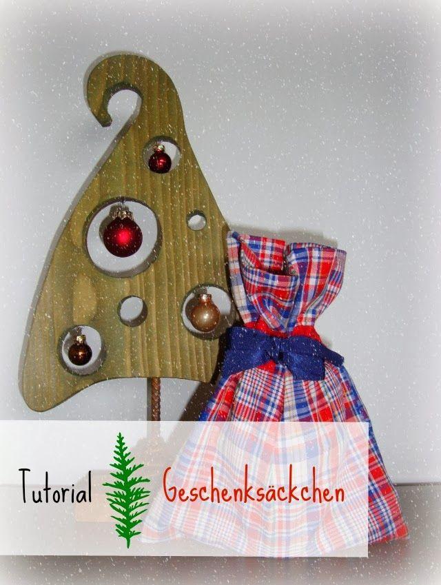 Sewionista: Adventsbasteln Teil 1: Geschenksäckchen Advent-DIY part 1: Gift bags
