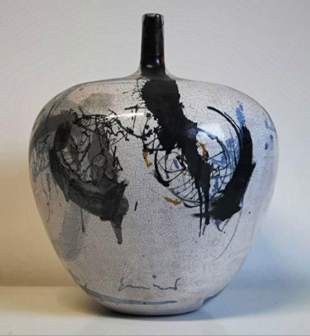 Emilio Scanavino  ceramic vessel