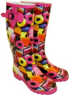 The cuckoo in the nest - Ladies Liquorice Allsorts Funky Wellington Boots   via www.amazon.co.uk: Shoes ...amazon.co.uk