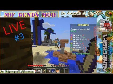La Scienza di Giacomo Minecraft PC #3 ✦MO' BENDS MOD✦ Ci muoviamo verame...