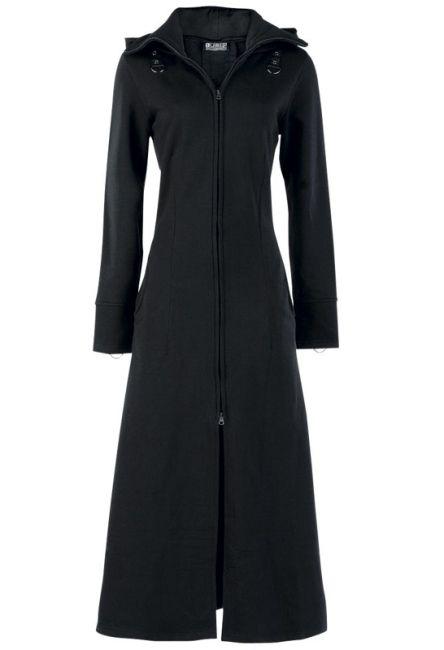 Poizen Industries - Raven Coat - Black