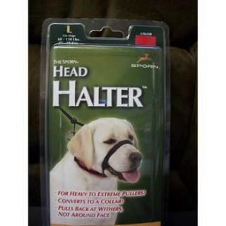 Head Halter Large Black