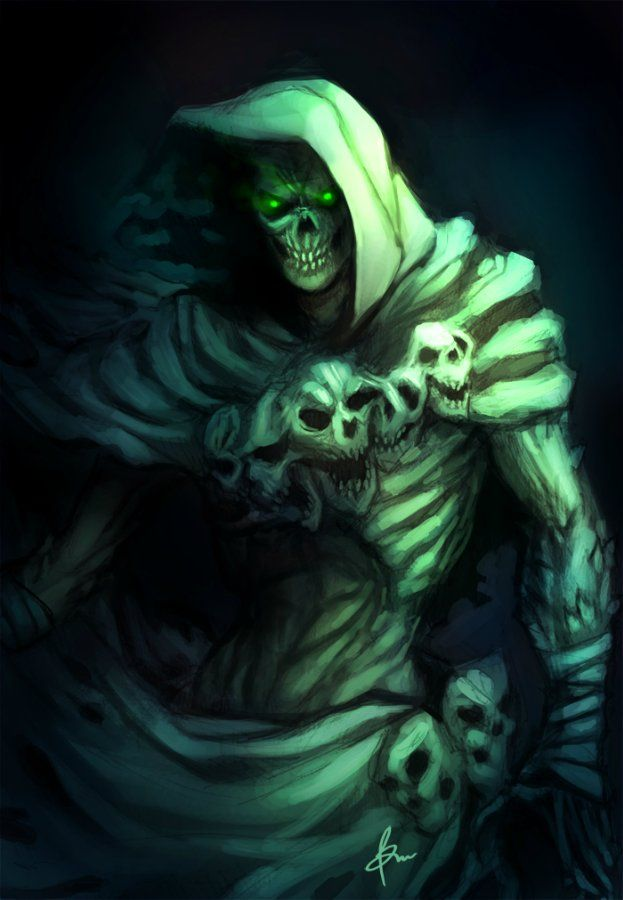 Картинки зеленый демон