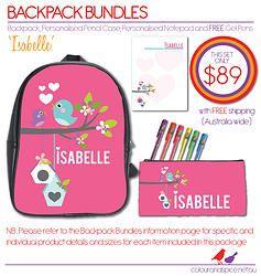 Backpack Bundle - Isabelle