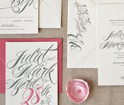 beautiful calligraphy: Layered Cakes, Save The Date, Cursive Wedding Invitations, Wedding Ideas, Letterpresses Invitations, Photo, Paper Ideas, Design, Press Atlanta