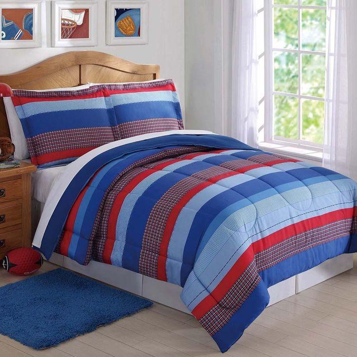 Sebastian Stripe Kids Comforter Set