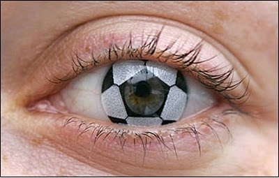 haha!!! Soccer ball contacts:)@Ivy Hulshizer u need some of these:)