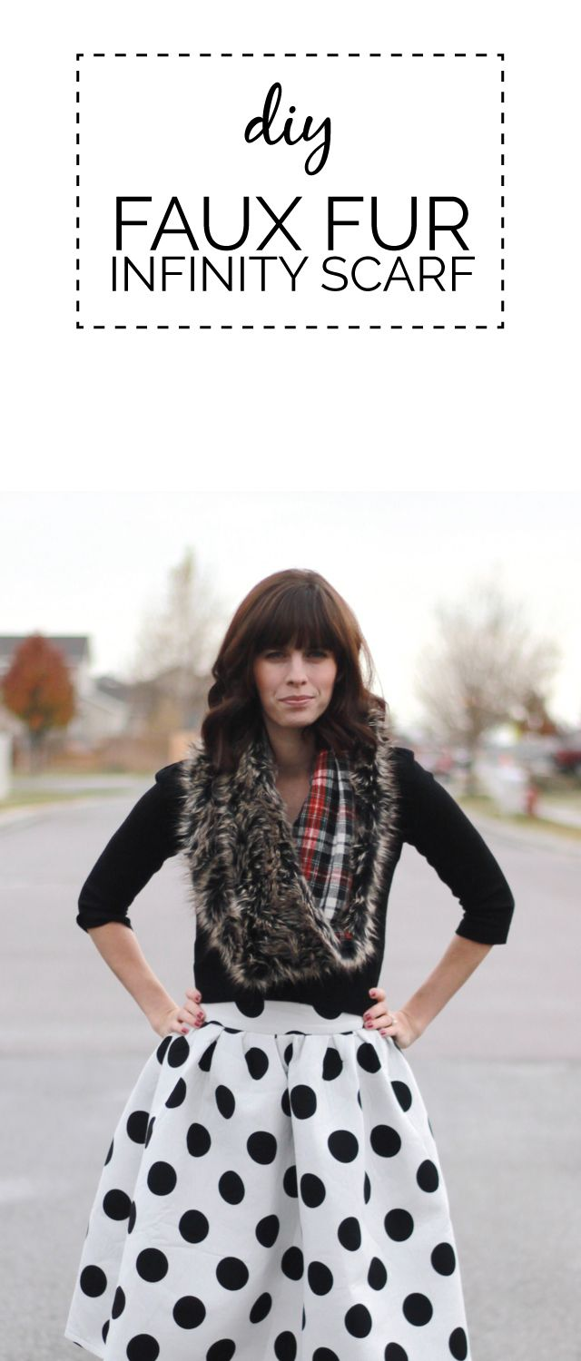 Written by Vivian of Vivileen. I love faux fur and plaid this season, and always love scarves....