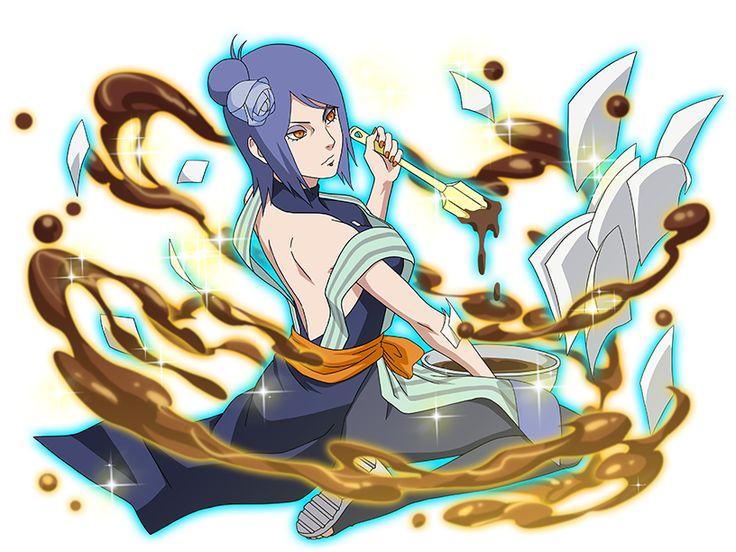 So that's what she wears under that Akatsuki cloak