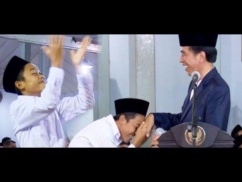Santri Kocak, Bikin Presiden Jokowi Ngakak