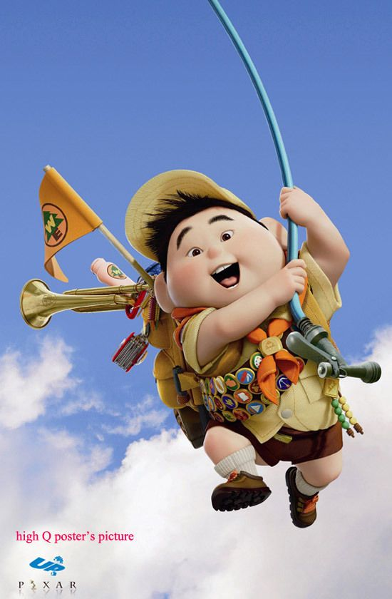 Up 2009 Movie 27x40 Banner Disney Pixar Movie Poster