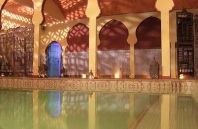 Los banos de Arabe .  Sevilla, Spain    best spa experience i have had yet.   http://www.aladinia.com/banos-arabes-sevilla