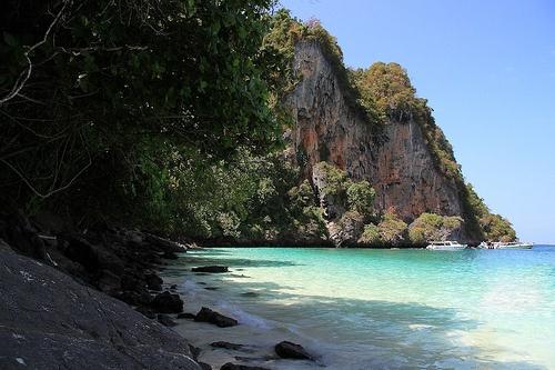 Monkey Beach Phi Phi Islands