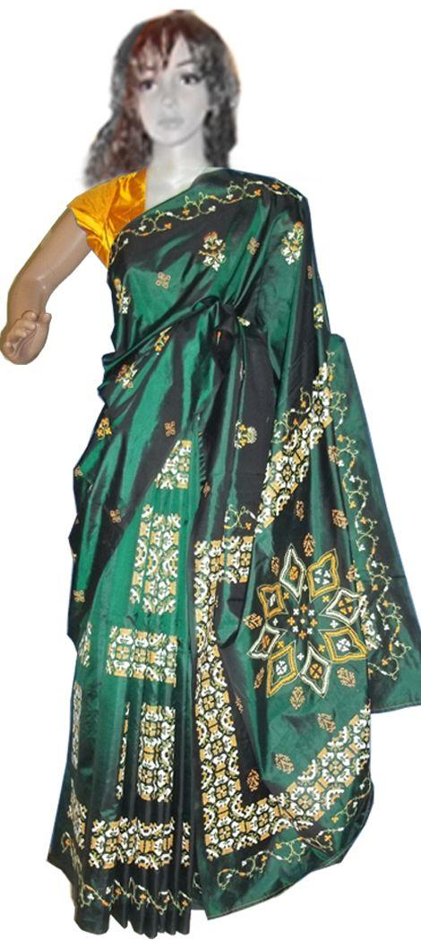 Saree printing, block printers in Bangalore, Textile printing in India - Devaki's for more info:http://www.devakis.in/