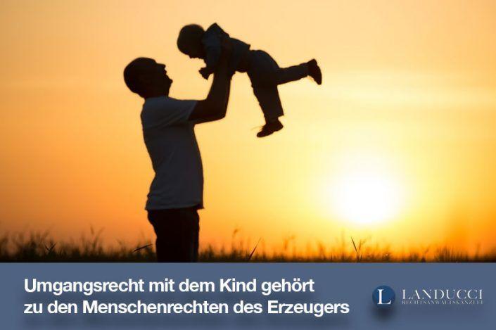 Umgangsrecht des biologischen Vaters