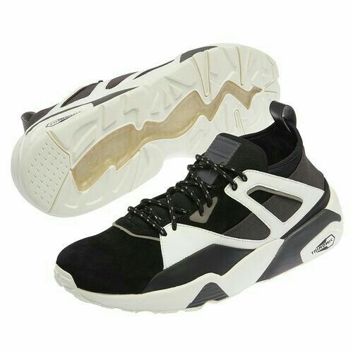 Chaussures De Sport Haute Vicky Mi Velours Côtelé Noir Puma Eismin6B